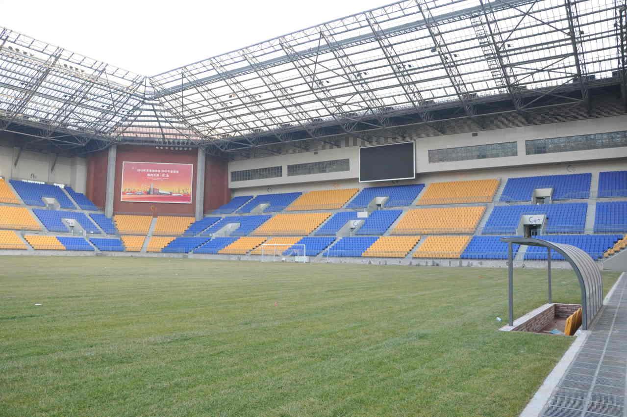 中国专业足球场.