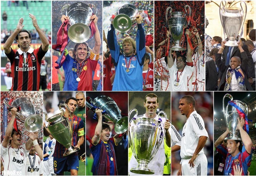 冠军欧洲20年最佳阵容